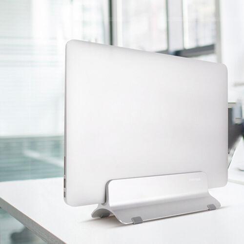 f r macbook apple notebooks pc vertikaler laptop st nder desktop halter ebay. Black Bedroom Furniture Sets. Home Design Ideas