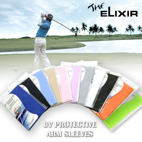 The Elixir UV Sun Protective Arm Sleeves Compression Cover for All Activities