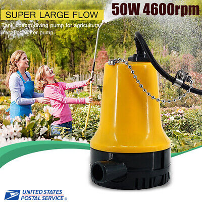 50w Low Consumption Mini Dc12v 4.5m Fandh Motor Submersible Water Pump Home