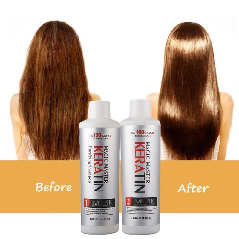 Brazilian Keratin Blow Dry Hair Straightening Treatment Sham