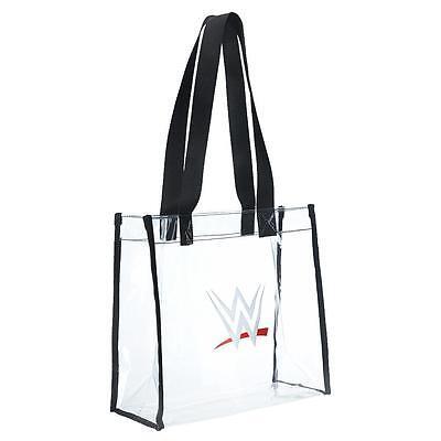 "New  WWE Clear Diva Tote Purse Bag Too Cool!  11"" x 11"" X 6""    USA SHIP  __B09"