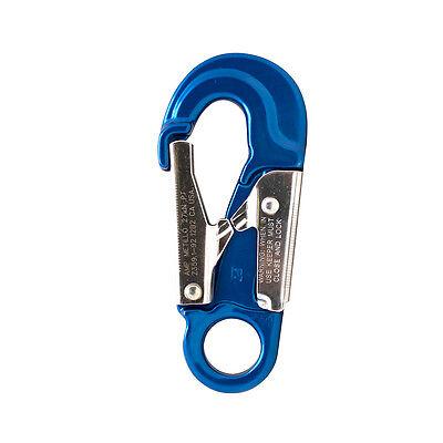 Fusion Climb Metillo Aluminum Double Lock Captive Eye Forged Snap Hook