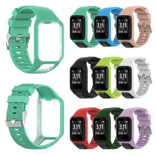 Replacement Silicone Band Strap for TomT0m Runner 2/3 Spark