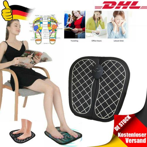 EMS Fußmassage FußMassagegerät Shiatsu Reflexzonen Massage mit Wärmefunktion DHL