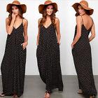 Polka Dot Maxi Dresses for Women