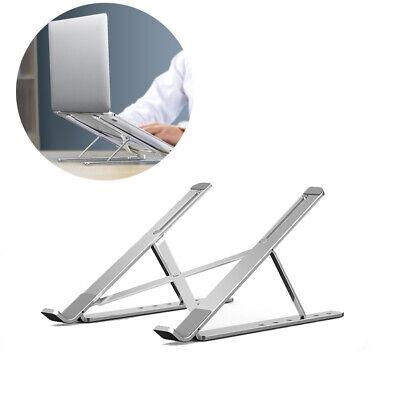 Adjustable Aluminium Laptop Stand Desk Holder Riser for Macbook Notebook Tablet