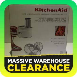 KitchenAid  Food Processor Attachment RRP $399 Tullamarine Hume Area Preview