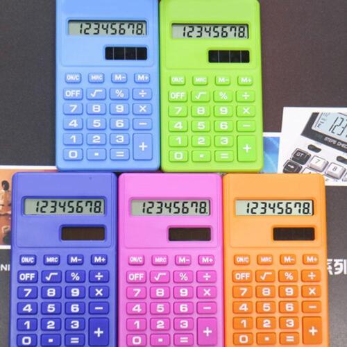 Taschenrechner Tischrechner Büro Rechenmaschine Rechner Kalkulator Schulrec U5Z3