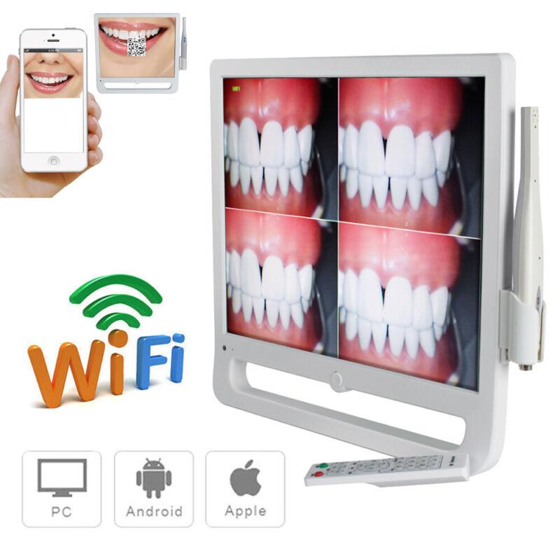 "17"" WIFI Digital Dental Intraoral Camera with Monitor Remote Control 1208×1024"