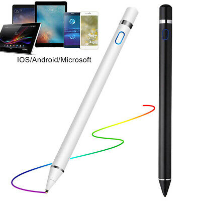 NEW Digital Active Stylus Pen Pencil For Apple iPad Touchscreen Ultra Fine Tip