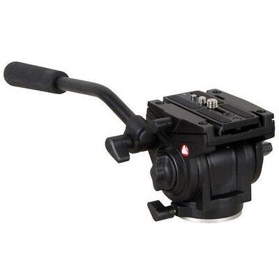 701HDV W/ 501PL QR Plate Pro Fluid Video Lightweight Head For Manfrotto Tripod