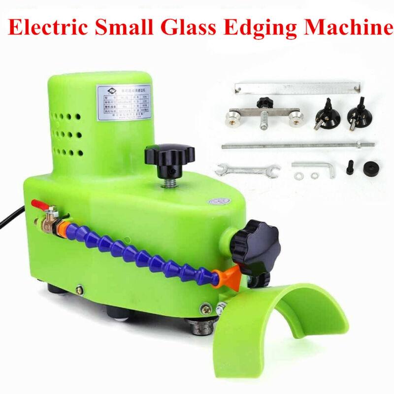 Straight Line glass grinding machine/small glass edge beveling polishing machine