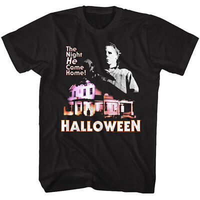 Halloween Michael Myers The Night He Came Home Adult T Shirt Great Scary Movie - The Halloween Night