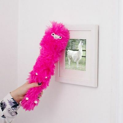 Llama Feather Duster Static Novelty Desktop Furniture Cleaning Pet Pink](Pink Feather Duster)
