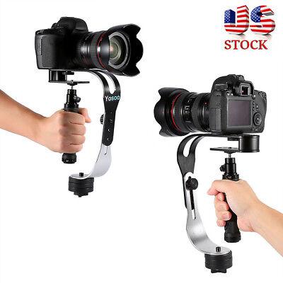US Handheld Camera Stabilizer Video Steadicam Gimbal For DSLR Camera Camcorder