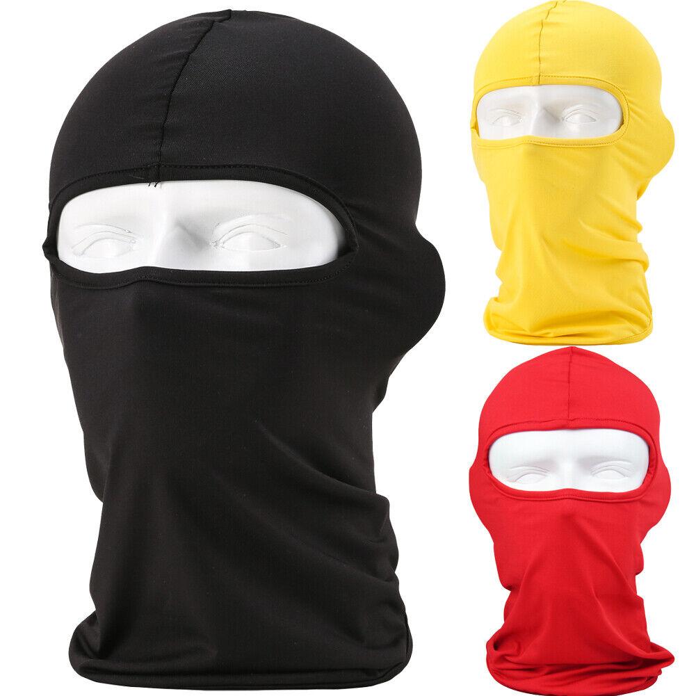 Outdoor Full Face Mask Balaclava lycra Ski Neck Summer Sun U
