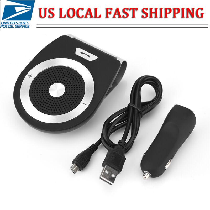 Wireless Bluetooth Car Kit Handsfree Auto Speakerphone Loud Speaker Visor Clip