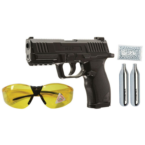 UMAREX MCP .177 BB Gun Air Pistol Kit w/ CO2, Shooting Glasses & BBS 2252118