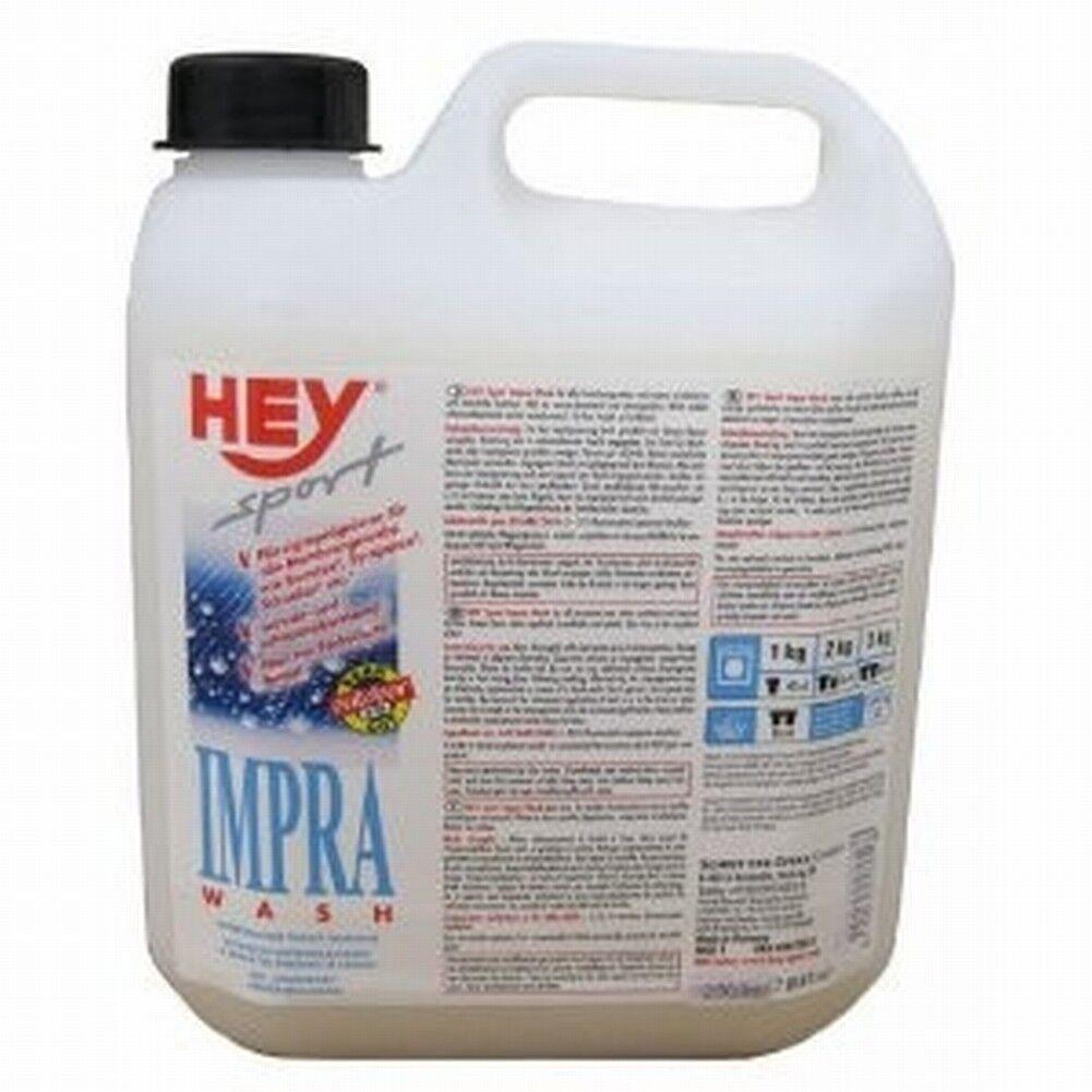 HEY-Sport Impra Wash 2,5 Liter Kanister Spezialwaschmittel Imprägnierer Textil
