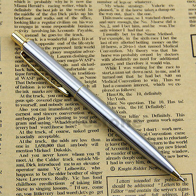 NEW BAOER 37 stainless steel Push Ball Point Pen