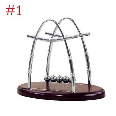 Newtons Cradle Balance Steel Ball Physics Science Pendulum Desk Office Supplies