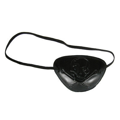 See Through Skull Pirate Eye Patch Costume Accessory ~ HALLOWEEN PARTY - Halloween Costume Pirate Accessories