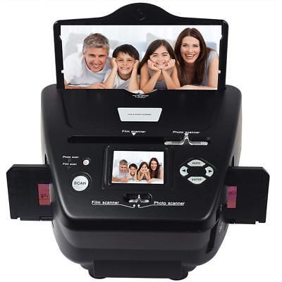 35 Mm Slides To Digital Converter (35mm/135slide Negative Film Scanner Photo Name Card to Digital)
