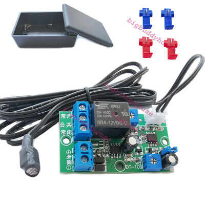Dc 12v Car Light Sensor System Automatically Control On Off Photocell Switch Led