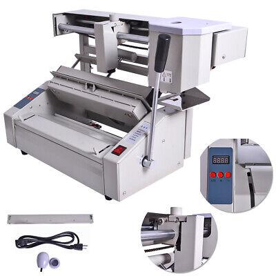 A4 Book Desktop Perfect Binding Machine Melt Glue Book Paper Binder Puncher