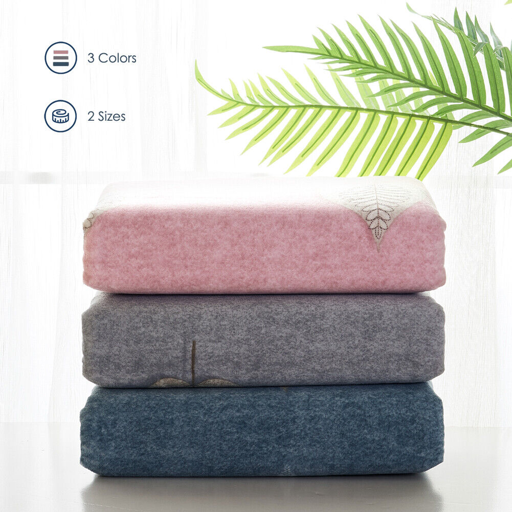 """3PC Removable Weighted Blanket Cover 60""""x80"""" / 48""""x72"""" Leave"""