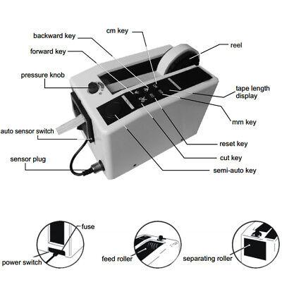 110v Automatic Tape Dispenser Tape Cutting Machine