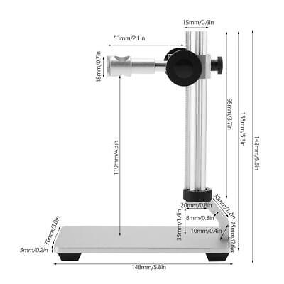 12mm Digital Usb Microscope Endoscope Holder Adjustable Bracket Up Down Sl