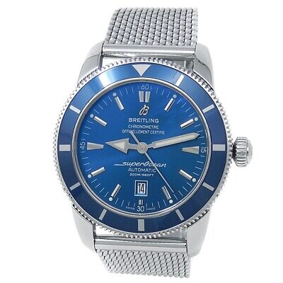 Breitling Superocean Heritage Stainless Steel Automatic Blue Men's Watch A17320