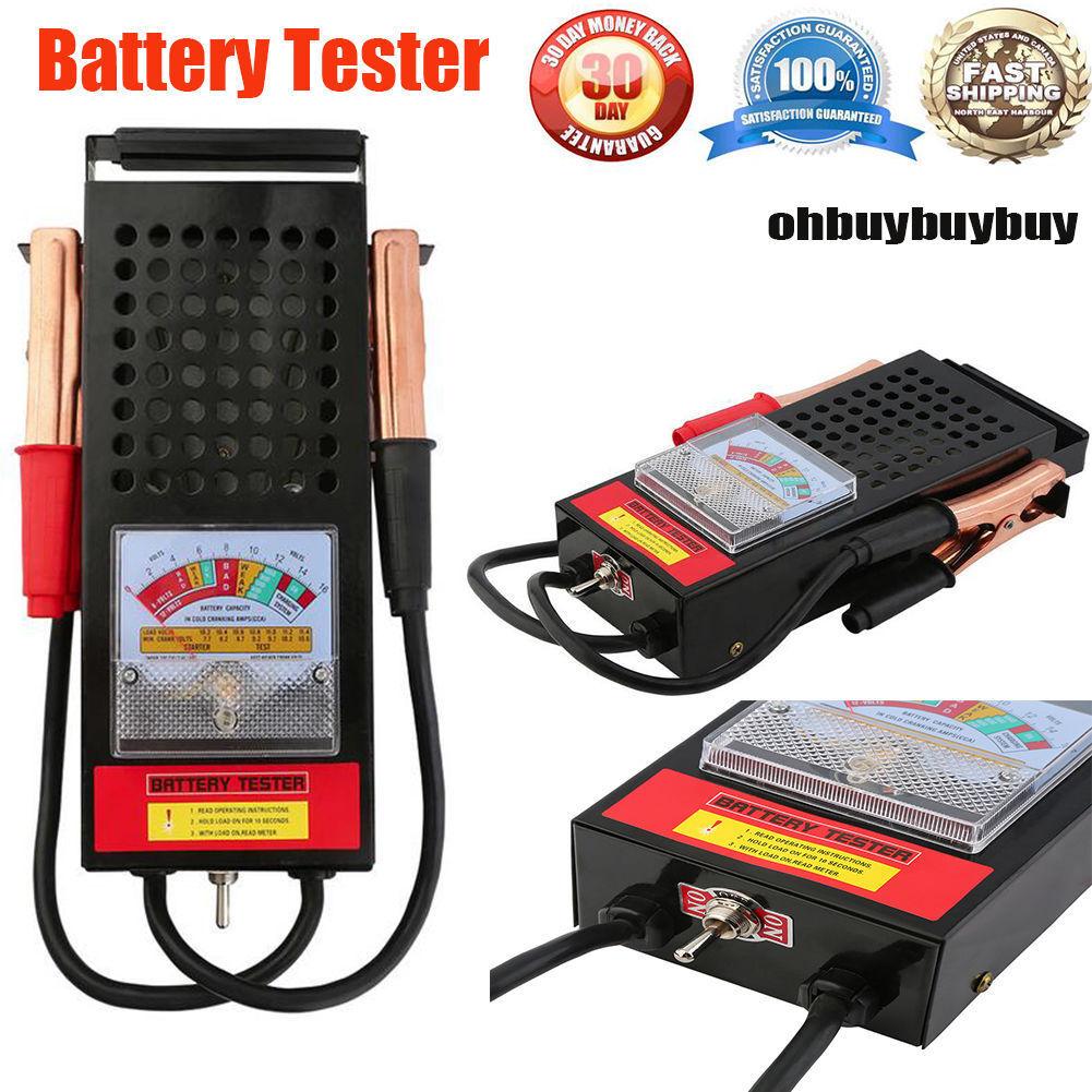 Portable Battery Load Tester | 6V 12V Diagnostic Charging System 100amp Car Boat