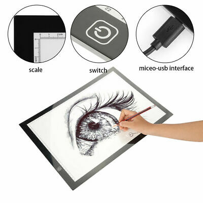 A3 LED Tracing Board Light Box Thin Pad Stencil Drawing Table Tattoo Artist Art