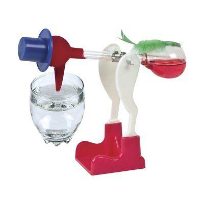 Drinking Bird Einstein Retro Glass Happy Bird Lucky Bobbing Toy For Kids Gift US