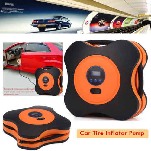 Dc 12v Portable Car 150psi Digital Air Compressor Inflator Tyre Pump Led Display