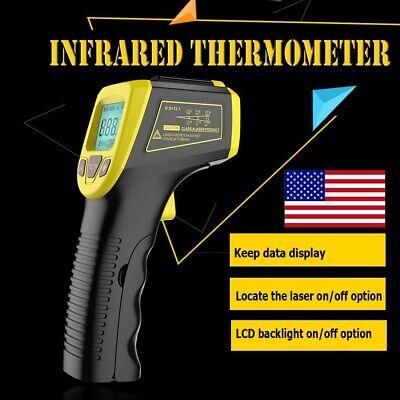 Infrared Thermometer Temperature Tester Gun Non-contact Digital Laser -581112