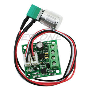Dc 2a motor speed controller switch variable speed for Variable speed dc motor control