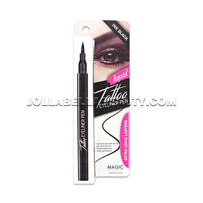 Magic Collection Liquid Tattoo Eyeliner Pen Semi-Permanent - Ink Black #EYE1009 - Magic Ink
