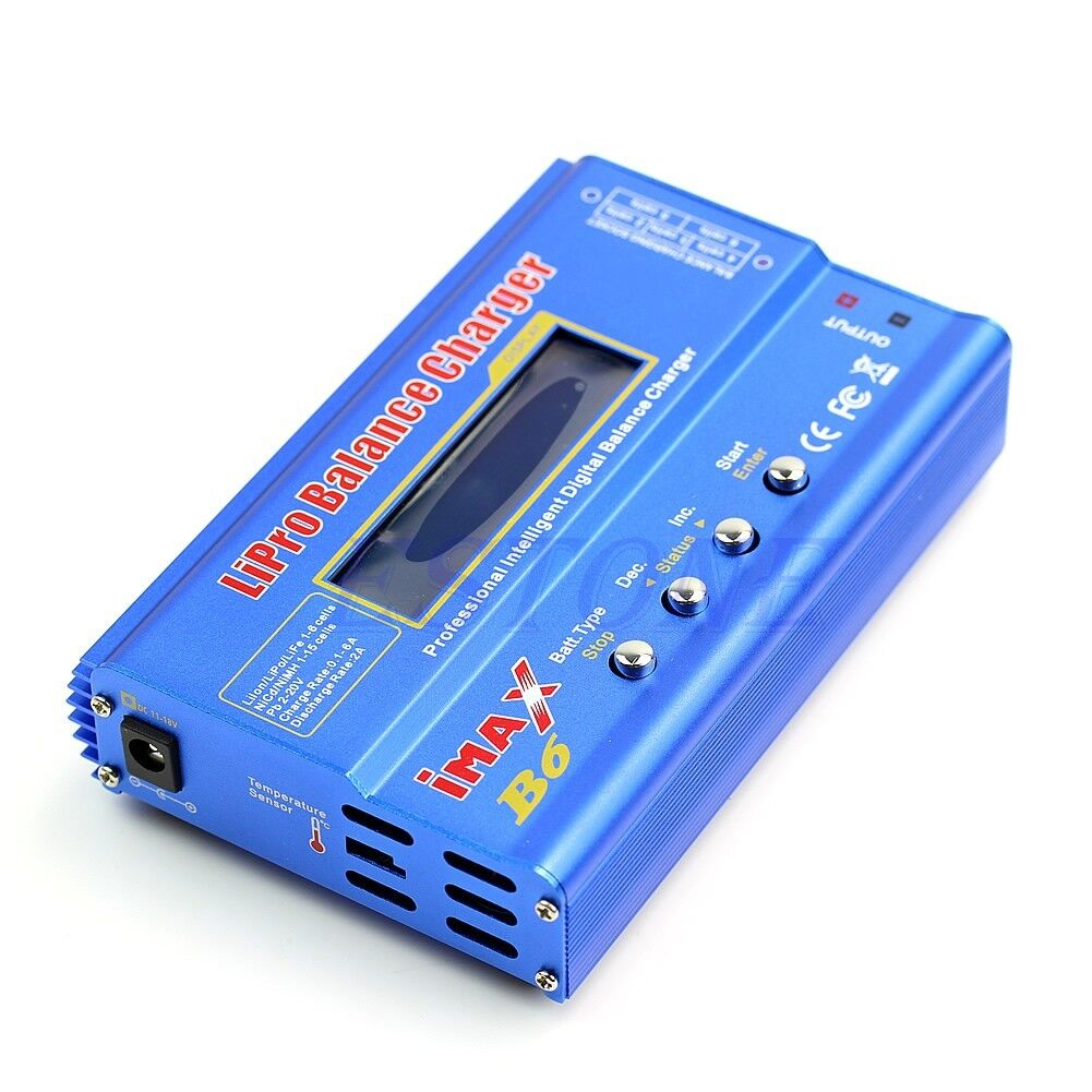 New Imax B6 Lcd Screen Digital Rc Lipo Nimh Batter In Toys 80w Battery Balance Charger And