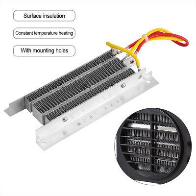 Thermo Heizelemente (400W 12V PTC Heizlüfter Heizelement Elektrisch Keramik Thermostatisch Heizplatte)