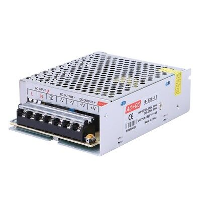 Ac 220v To Dc 12v 10a 120w Voltage Transformer Switch Led Power Supply Converter