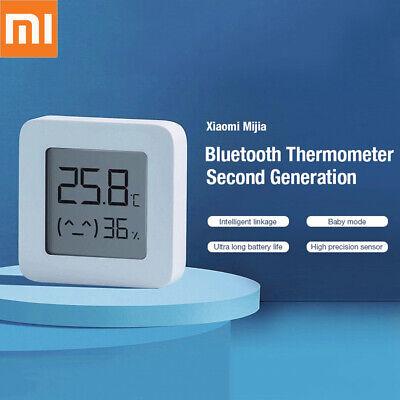 Xiaomi BT4.2 Termómetro Smart Eléctrico Digital Higrómetro Humidity Sensor App
