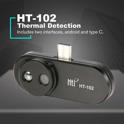 Ht-102 Cell Phone Infrared Camera Thermal Imager Androidtype-c Usb Interface Us