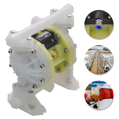Updated Air-operated Double Diaphragm Air Poly Pump 12 Or 34 Npt