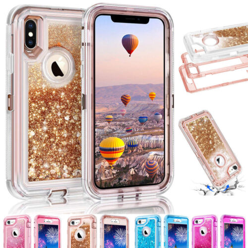 Quicksand Liquid Glitter Bling Case Cover For Samsung GalaxyS9 Plus iPhone XS XR