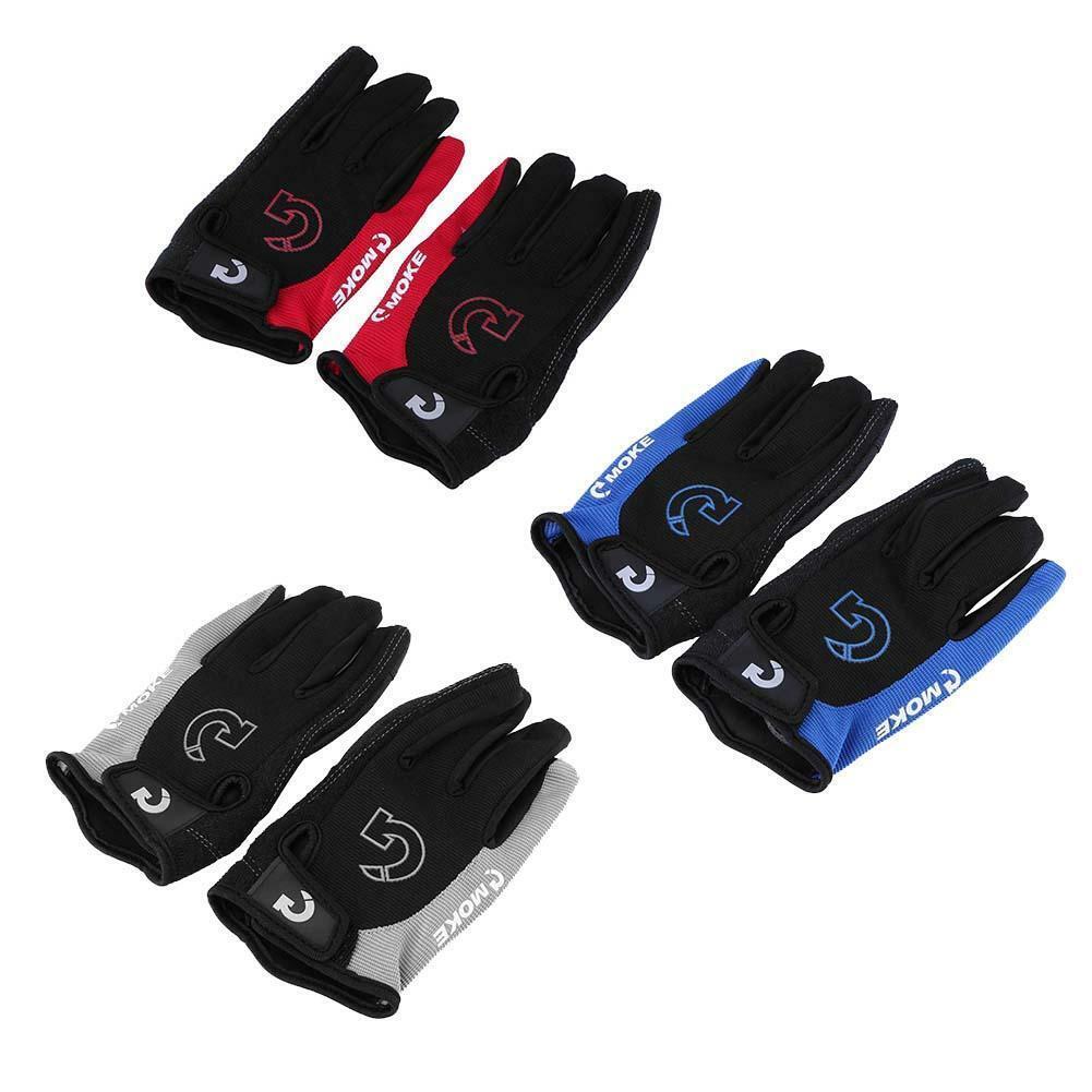 1 Pair Cycling Gloves Sponge Pad Long Finger Bicycle Mountai