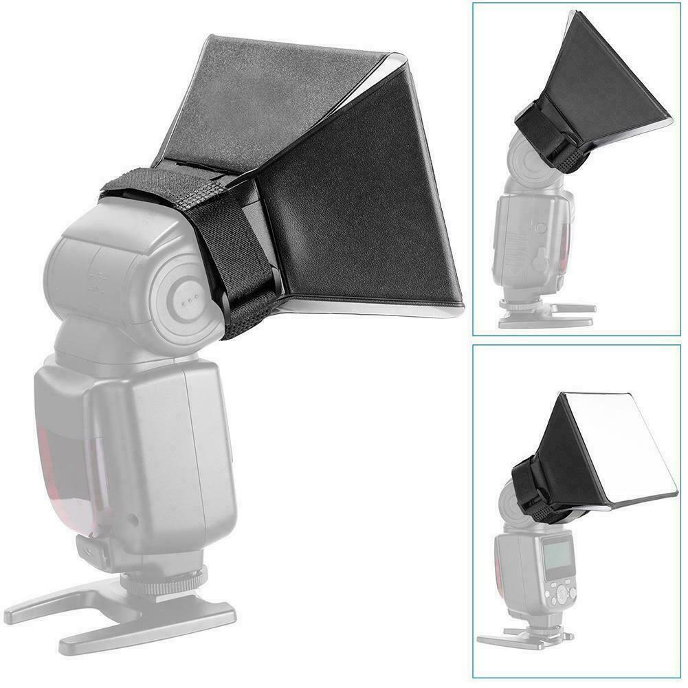 10*13cm Mini Portable Softbox Diffuser for Speedlite//Speedlight Lights