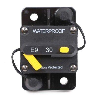 Us Waterproof 30 50 60 100 Amp Circuit Breaker Trolling Manual Reset 12v- 48v Dc